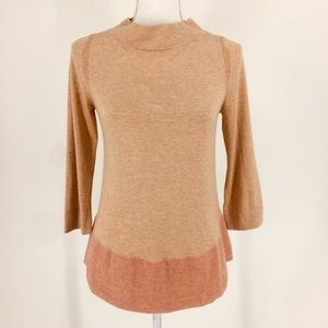 Anthro Angel of the North Wool Cashmere Sweater